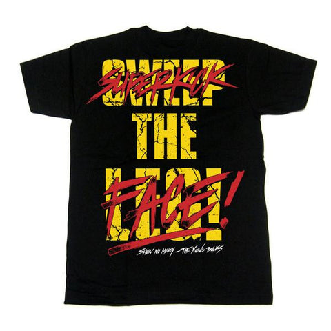 Young Bucks: Superkick The Face T-Shirt, Apparel, Powerbomb, Justin Ishmael - Justin Ishmael