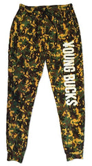 Young Bucks: Elite Camo Sweatpants, Apparel, Powerbomb, Justin Ishmael - Justin Ishmael