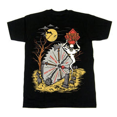 Wheel of Death T-shirt, Apparel, Powerbomb, Justin Ishmael - Justin Ishmael