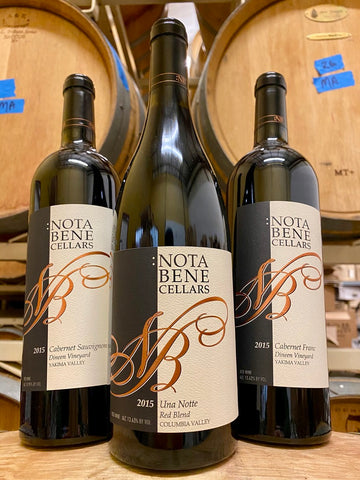 June 2020 Special Offer - A Trio of 2015 Wines from :Nota Bene