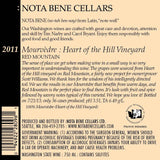 2011 Mourvèdre - Heart of the Hill Vineyard : Red Mountain