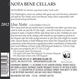 2012 Una Notte : Columbia Valley