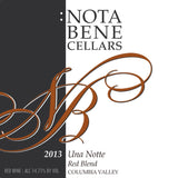 2013 Una Notte : Columbia Valley
