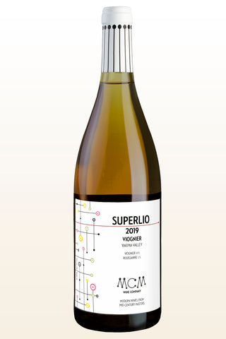 2019 MCM Wine Company Superlio Viognier – Dineen Vineyard: Yakima Valley