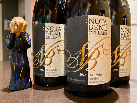 October 2020 Special Offer - A three pack vertical of Una Notte GSM Blend
