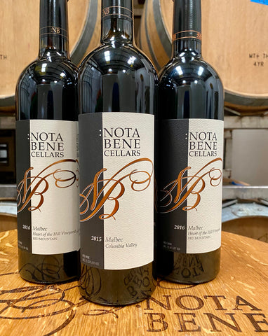 April 2020 Wine Special - A Vertical of Malbec from Heart of the Hill Vineyard