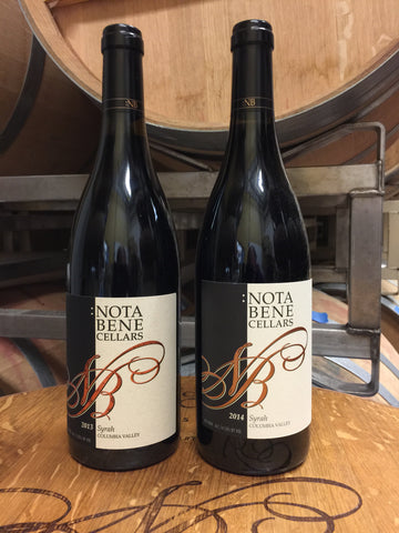 Syrah Vertical Fall Special - September 2018