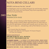 2005 Una Notte : Columbia Valley
