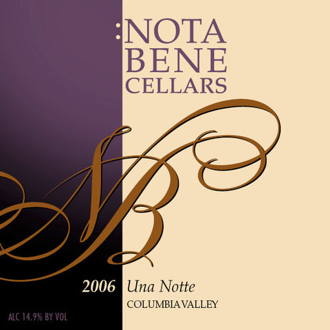 2006 Una Notte : Columbia Valley