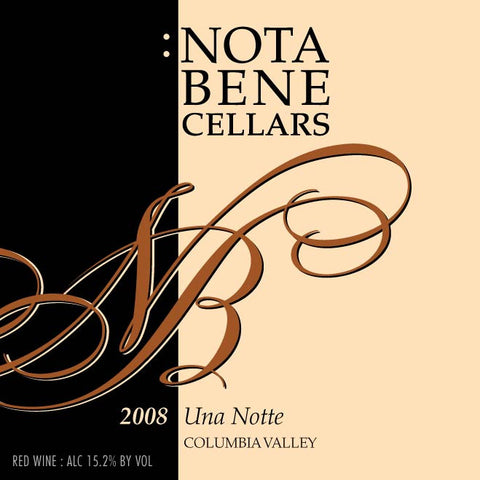 2008 Una Notte : Columbia Valley