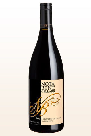 2011 Syrah - Stone Tree Vineyard : Columbia Valley