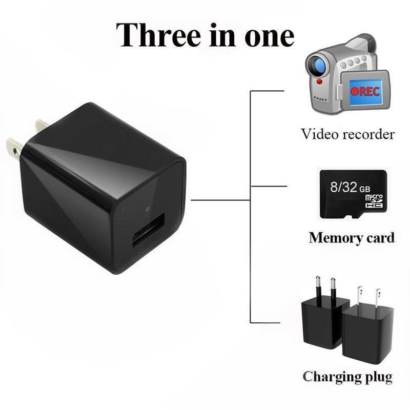 1080P Mini Charger USB Camera
