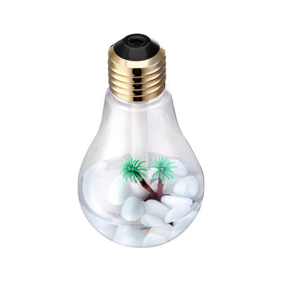 7 Color changing LED Bulb Shape Aroma Diffuser