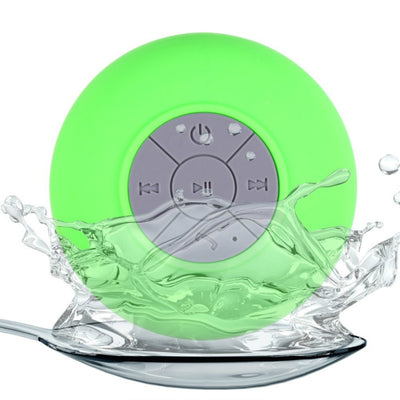 Waterproof Wireless Bluetooth Handsfree Mic Suction Mini Speaker