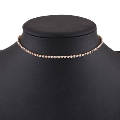 Rhinestone Luxury Choker Necklace