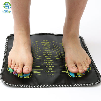 Acupuncture Cobblestone Foot Stone Massager