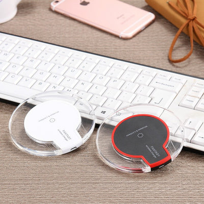 Qi Wireless Power Charger Charging Pad Receiver For iPhone