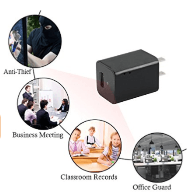 WIFI- 1080P Mini Charger USB Camera
