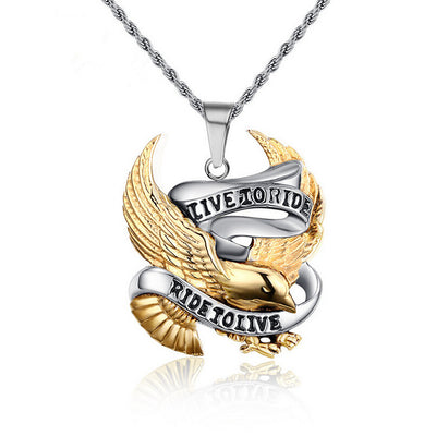 LIVE TO RIDE Necklace ( BUY 1 GET 1 FREE )