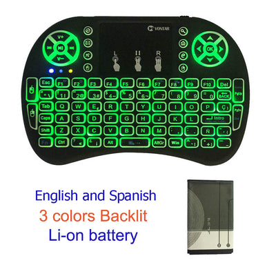Backlight i8 2.4GHz Wireless Keyboard Touchpad for Android TV BOX Mini PC