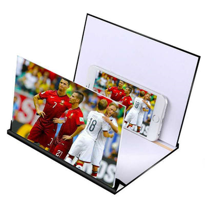 Folding Screen Magnifier 3D Smart Mobile Phone Movies - D1
