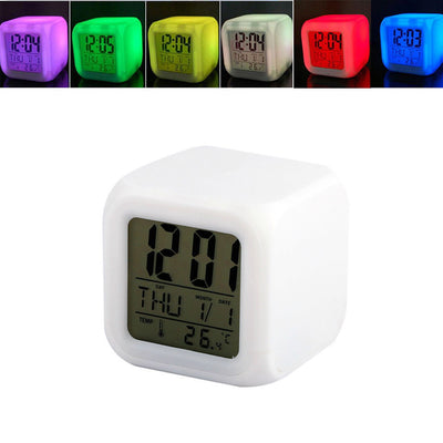 7 Color Digital Alarm Clock
