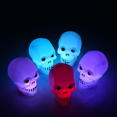 Halloween Flash Skull LED