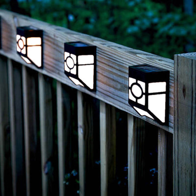 Solar Powered Wall Mount Garden Path Lamp