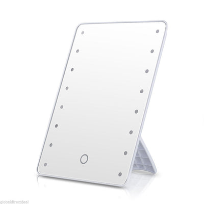 Tabletop LED Makeup Mirror