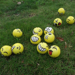 Smiley Face Anti Stress Reliever Ball
