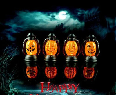 Halloween Scene Decorative Lantern
