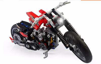 378 Pcs Harley Block Set