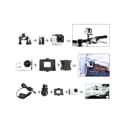 Ultra HD 1080P Waterproof Action Camcorder