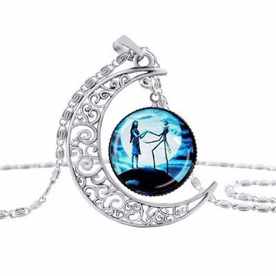 The Nightmare Before Christmas Hollow Moon Necklace