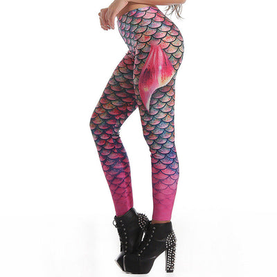 Mermaid Gym Leggings