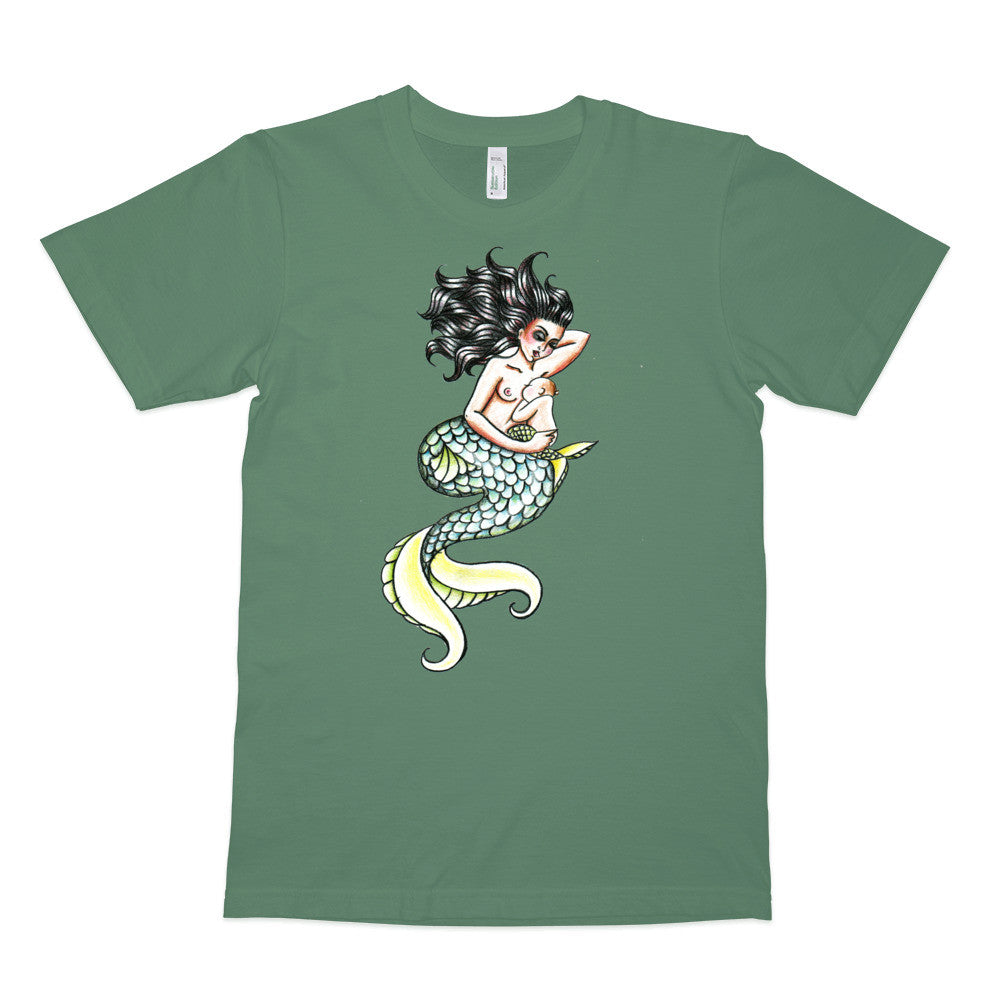 Mermaid by Kate Gillett - Organic T