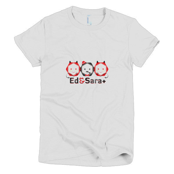 Ed and Sara + - Women's T