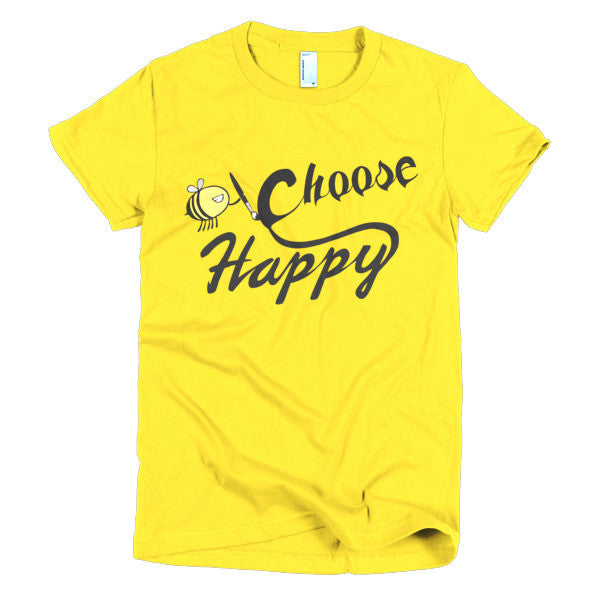 Choose Happy - Women's T