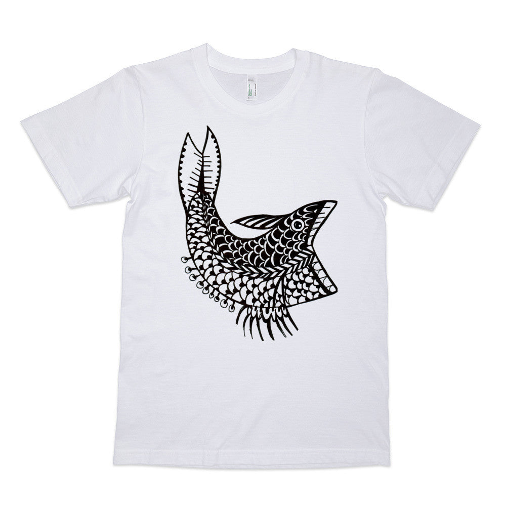 Fish by Kate Gillett - Organic T