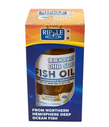 DHA 500 Fish Oil - Brain Health - Ripple Singapore
