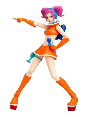 Space Channel 5 Ulala: Exciting Orange Ver. Figma