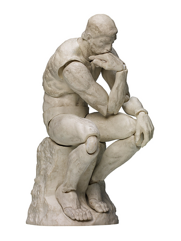Table Museum The Thinker: Plaster Ver. Figma