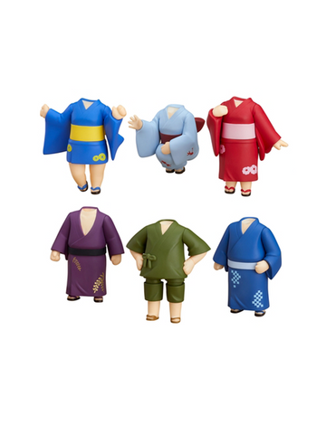 Nendoroid More: Dress Up Yukatas Trading Figures