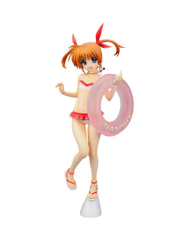 Magical Girl Lyrical Nanoha the MOVIE 1st Nanoha Takamachi (Swimsuit Ver.) 1/7th Scale Figure