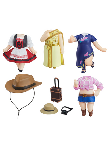 Love Live! Sunshine!! Dress Up World Image Girls Vol 1. Trading Figures