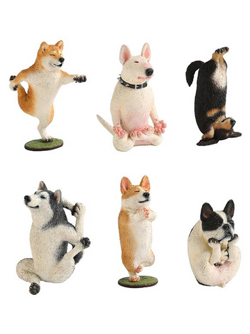 Animal Life - Yoga Master Dog Trading Figure