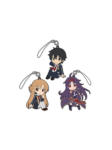 Sword Art Online Mother's Rosario Rubber Straps Trading Figures