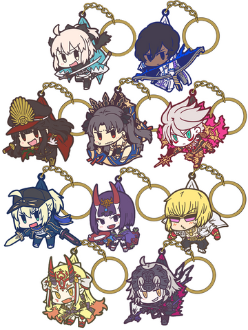 Fate Series Tsumamare Fate/Grand Order Set Vol. 2 Key Chains