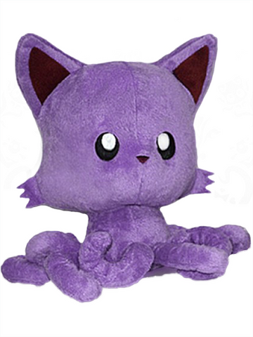 "Tentacle Kitty (Purple) 8"" Plush Doll"