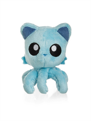 "Tentacle Kitty (Paradise Blue) 8"" Plush Doll"